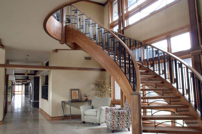 Interior staircase photo for Neiweem Industries